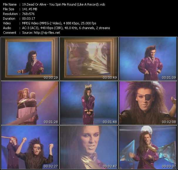 Dead Or Alive Video Clip(VOB) vob