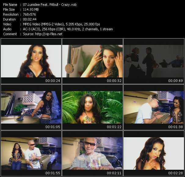 Lumidee Feat. Pitbull Video Clip(VOB) vob