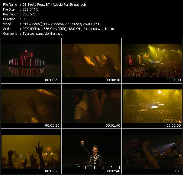 Tiesto Feat. BT Video Clip(VOB) vob