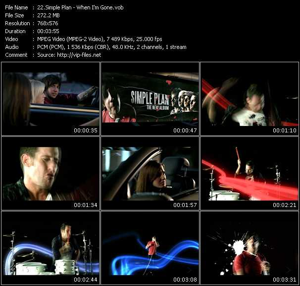 Simple Plan Video Clip(VOB) vob