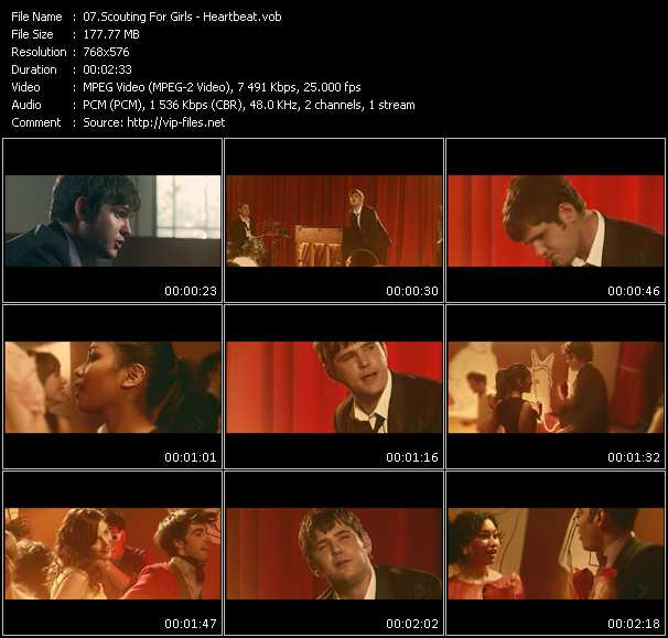 Scouting For Girls Video Clip(VOB) vob