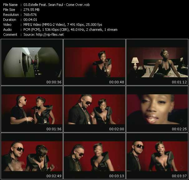 Estelle Feat. Sean Paul Video Clip(VOB) vob