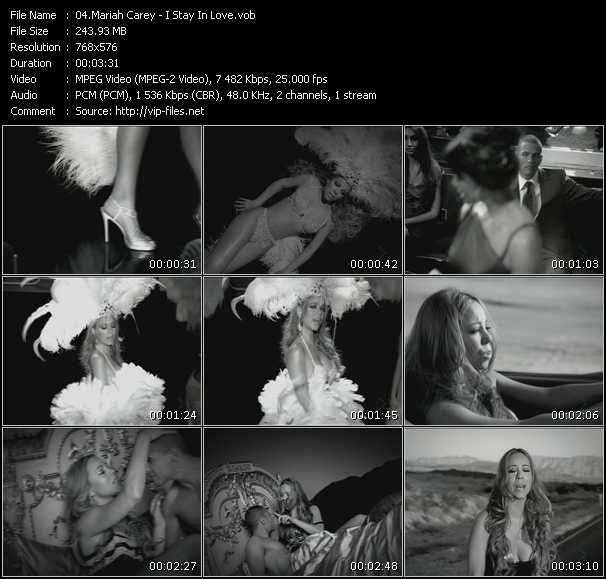 Mariah Carey Video Clip(VOB) vob