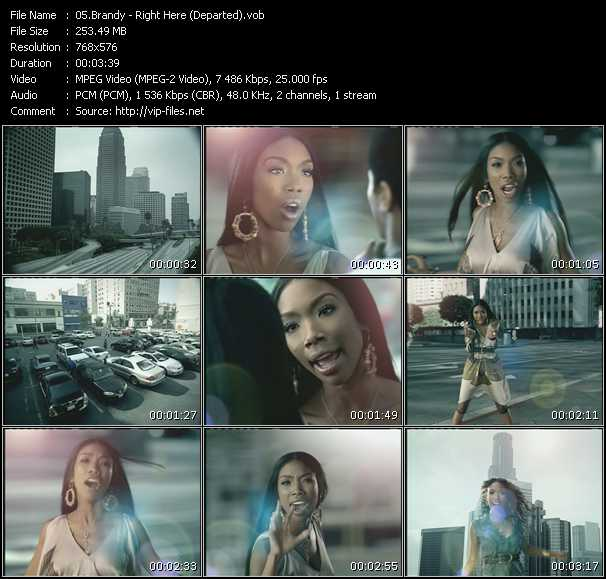 Brandy Video Clip(VOB) vob