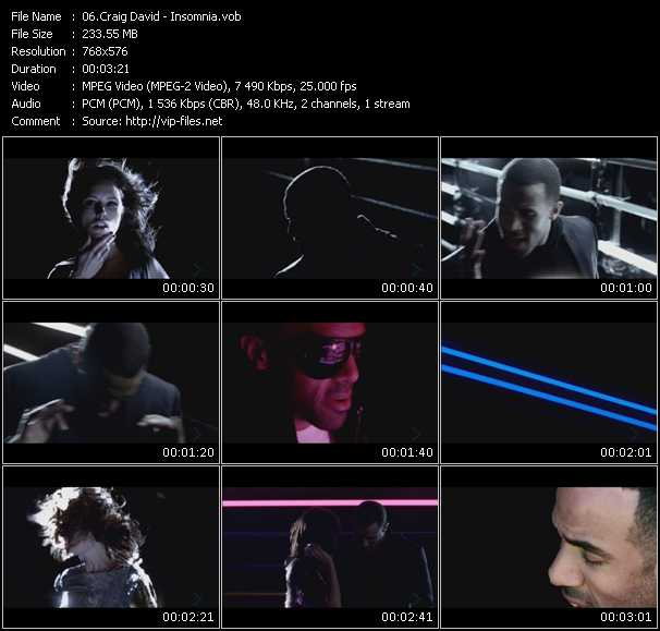 Craig David Video Clip(VOB) vob