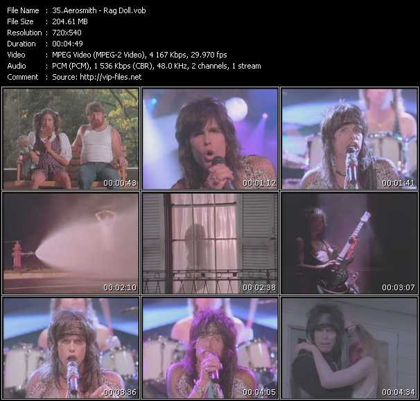 Aerosmith Video Clip(VOB) vob