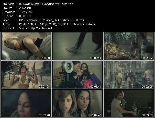 David Guetta Video Clip(VOB) vob
