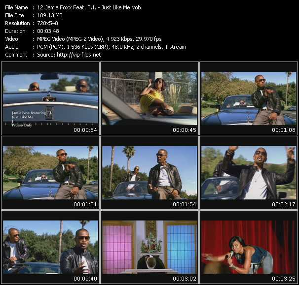 Jamie Foxx Feat. T.I. Video Clip(VOB) vob