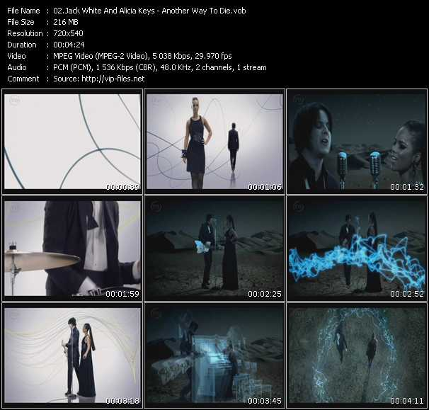 Jack White And Alicia Keys Video Clip(VOB) vob
