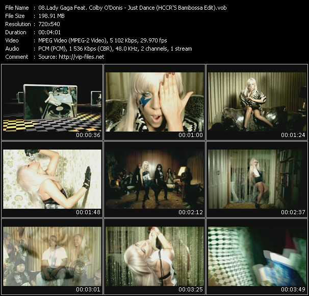 Lady Gaga Feat. Colby O'Donis Video Clip(VOB) vob