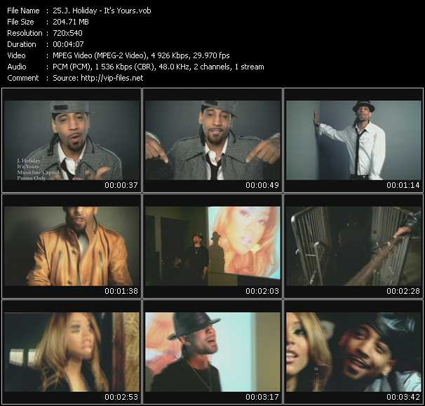 J. Holiday Video Clip(VOB) vob