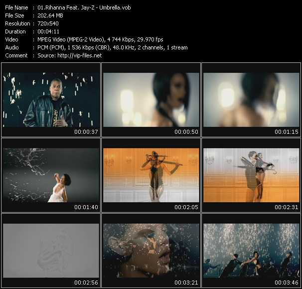 Rihanna Feat. Jay-Z Video Clip(VOB) vob