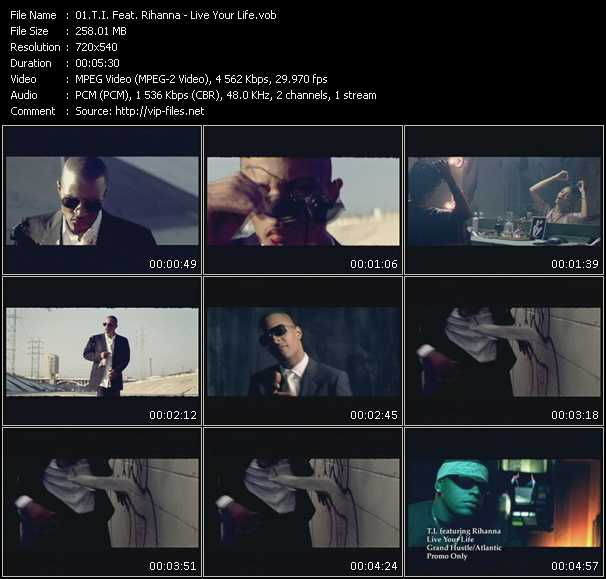 T.I. Feat. Rihanna Video Clip(VOB) vob