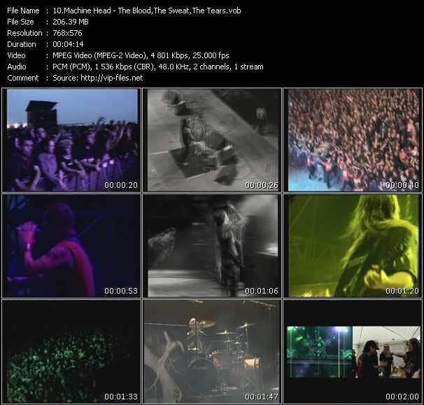 Machine Head Video Clip(VOB) vob