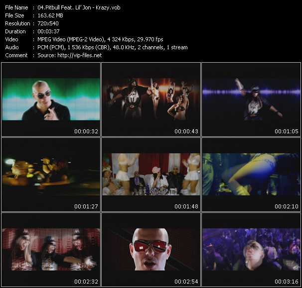 Pitbull Feat. Lil' Jon Video Clip(VOB) vob