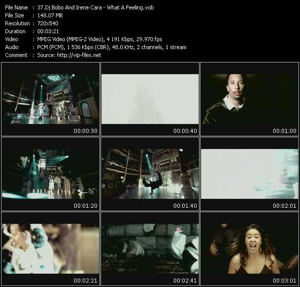 Dj Bobo And Irene Cara Video Clip(VOB) vob