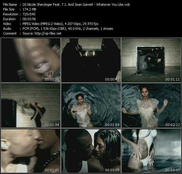 Nicole Scherzinger Feat. T.I. And Sean Garrett Video Clip(VOB) vob