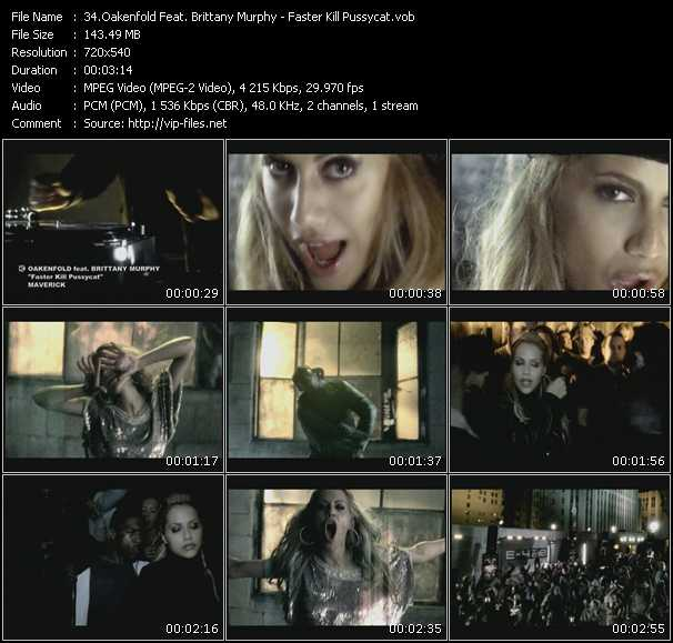 Paul Oakenfold Feat. Brittany Murphy Video Clip(VOB) vob