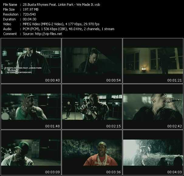Busta Rhymes Feat. Linkin Park Video Clip(VOB) vob