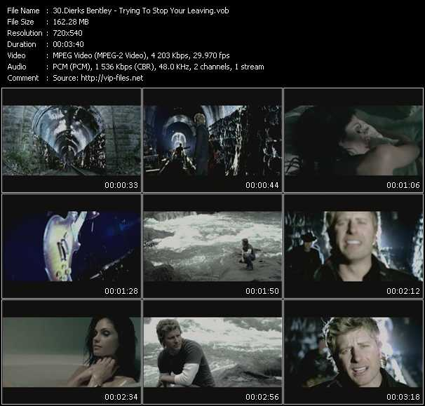 Dierks Bentley Video Clip(VOB) vob