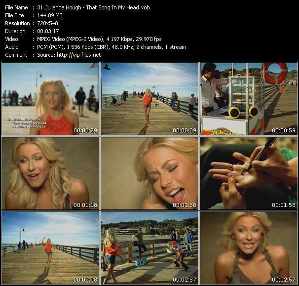 Julianne Hough Video Clip(VOB) vob