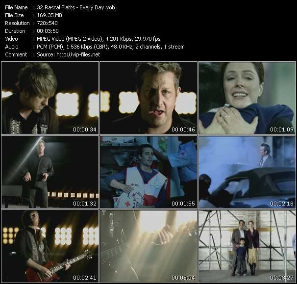 Rascal Flatts Video Clip(VOB) vob