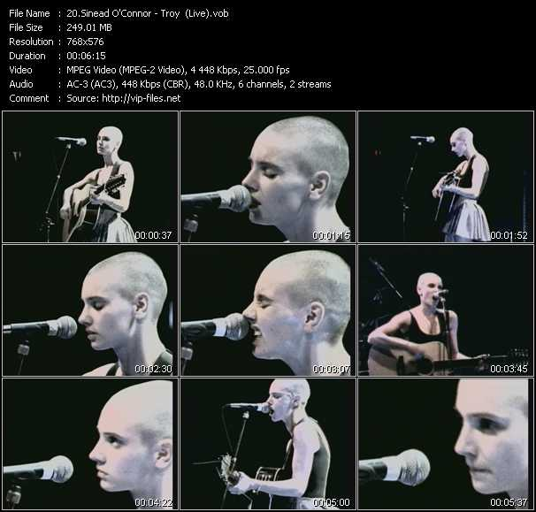 Sinead O'Connor Video Clip(VOB) vob