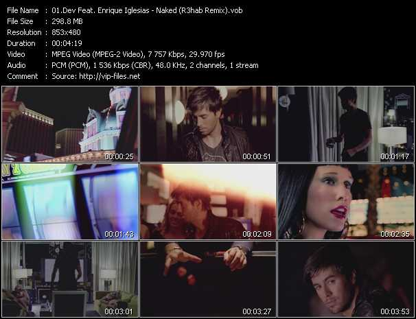 Dev Feat. Enrique Iglesias Video Clip(VOB) vob