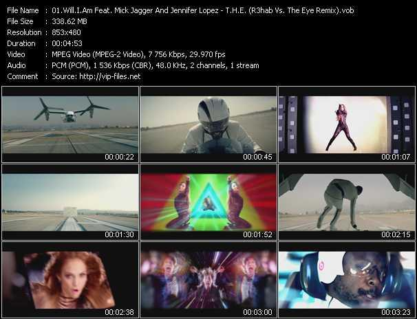 Will.I.Am Feat. Mick Jagger And Jennifer Lopez Video Clip(VOB) vob