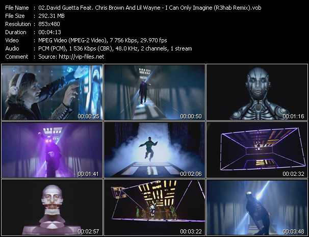 David Guetta Feat. Chris Brown And Lil' Wayne Video Clip(VOB) vob