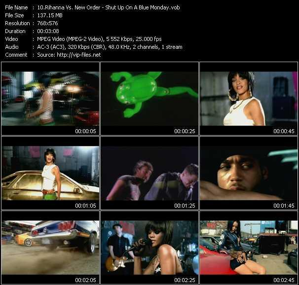 Rihanna Vs. New Order Video Clip(VOB) vob