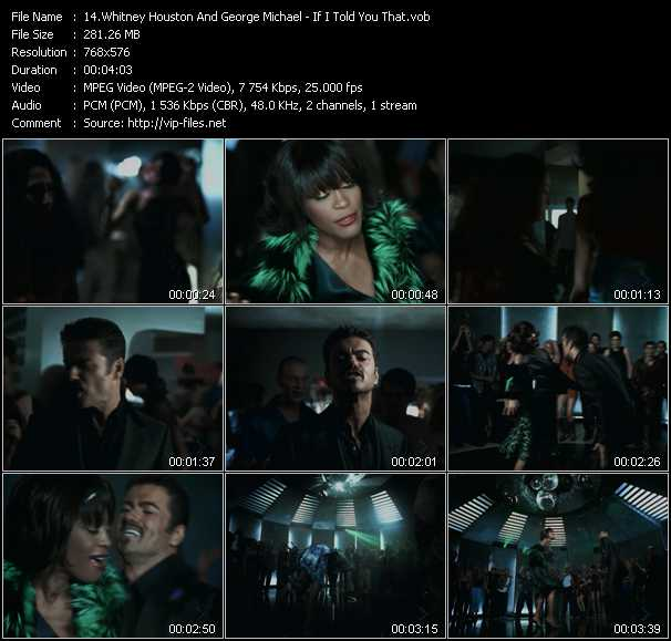Whitney Houston And George Michael Video Clip(VOB) vob