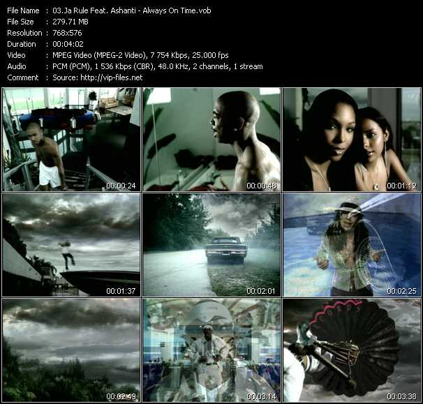 Ja Rule Feat. Ashanti Video Clip(VOB) vob