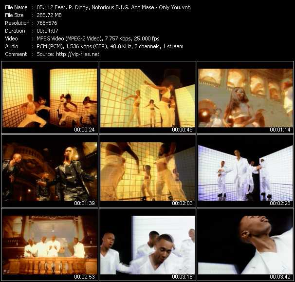 112 Feat. P. Diddy (Puff Daddy), Notorious B.I.G. And Mase Video Clip(VOB) vob