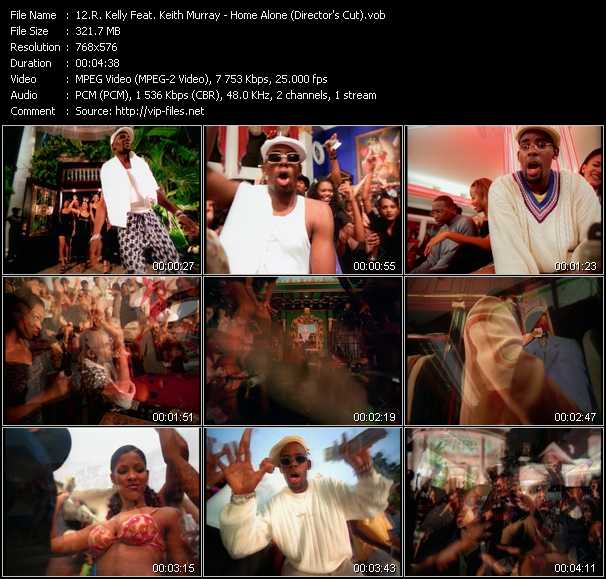 R. Kelly Feat. Keith Murray Video Clip(VOB) vob