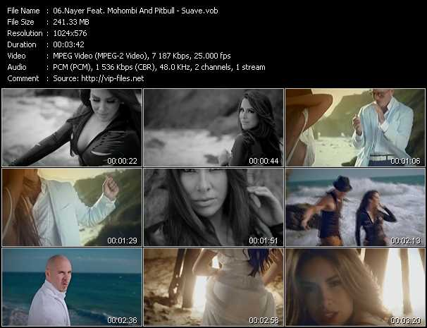 Nayer Feat. Pitbull And Mohombi Video Clip(VOB) vob