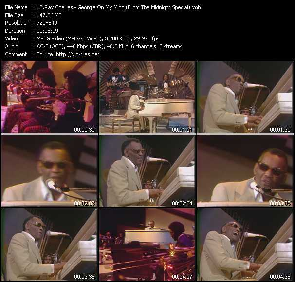 Ray Charles Video Clip(VOB) vob