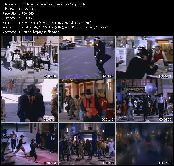 Janet Jackson Feat. Heavy D Video Clip(VOB) vob
