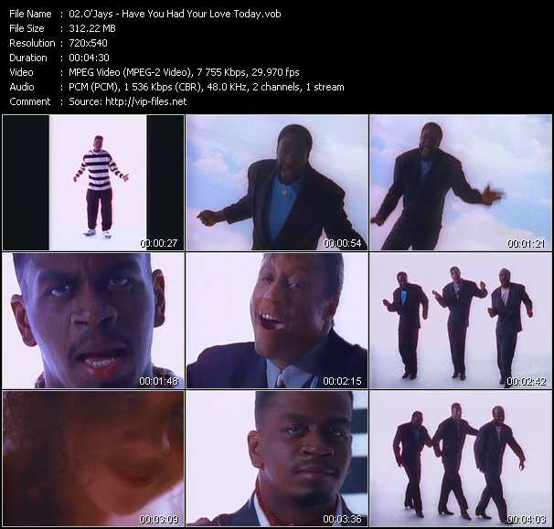 O'Jays Video Clip(VOB) vob