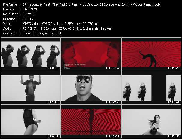 Haddaway Feat. The Mad Stuntman Video Clip(VOB) vob