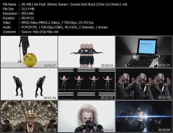 Will.I.Am Feat. Britney Spears Video Clip(VOB) vob