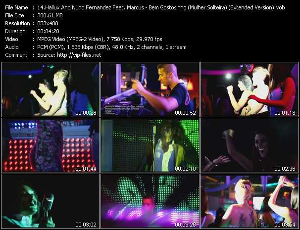 Hallux And Nuno Fernandez Feat. Marcus Video Clip(VOB) vob