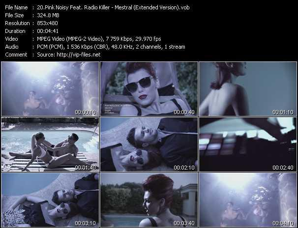Pink Noisy Feat. Radio Killer Video Clip(VOB) vob