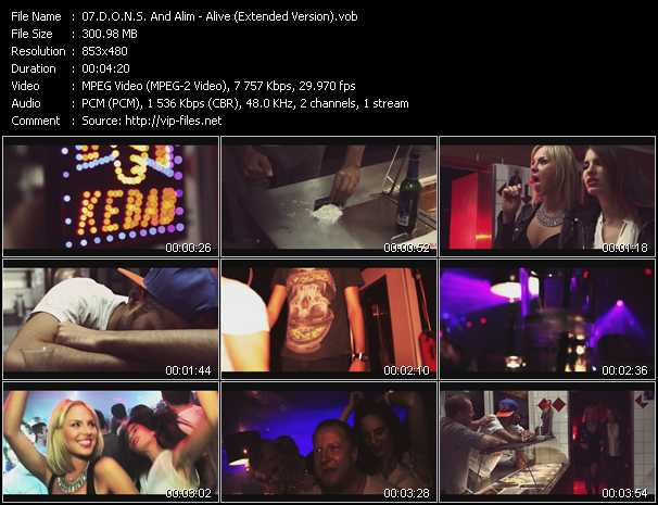 D.O.N.S. And Alim Video Clip(VOB) vob