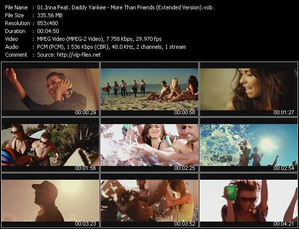 Inna Feat. Daddy Yankee Video Clip(VOB) vob
