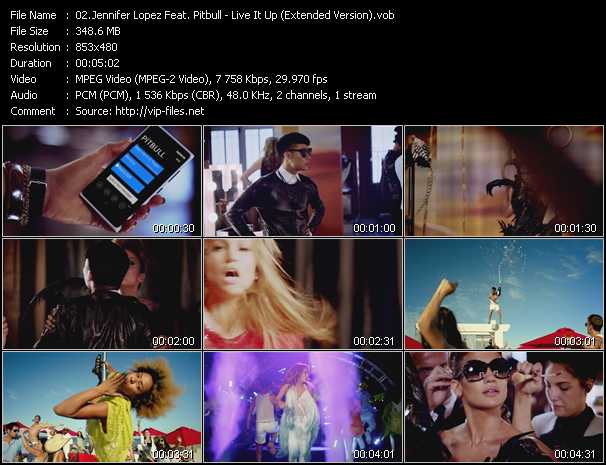 Jennifer Lopez Feat. Pitbull Video Clip(VOB) vob