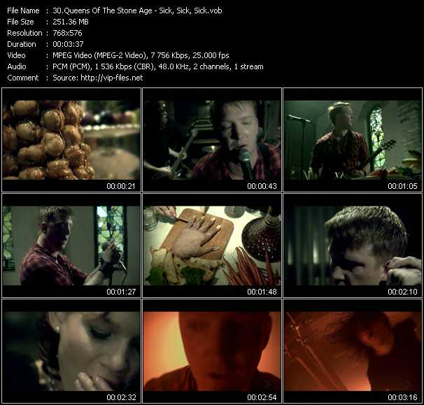 Queens Of The Stone Age Video Clip(VOB) vob