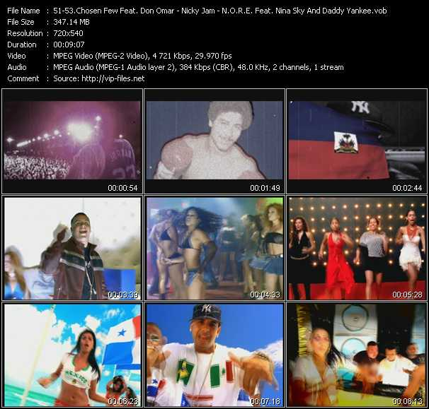 Chosen Few El Documental Feat. Don Omar - Nicky Jam - N.O.R.E. Feat. Nina Sky And Daddy Yankee Video Clip(VOB) vob