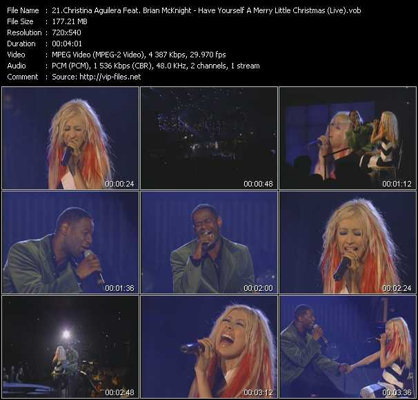 Christina Aguilera Feat. Brian McKnight Video Clip(VOB) vob