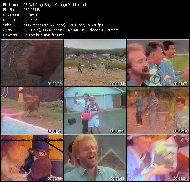 Oak Ridge Boys Video Clip(VOB) vob